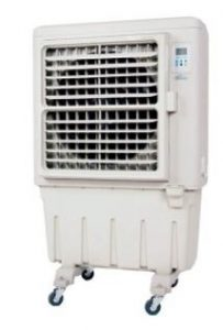 Evaporative outdoor AC (air cooler)